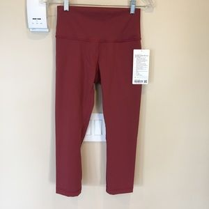 "lululemon Wunder Under High-Rise Crop 21"" *Flux"